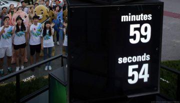 各就各位,預備,倒數計時!2014仁川亞運會-天梭表倒數計時鐘正式啟動