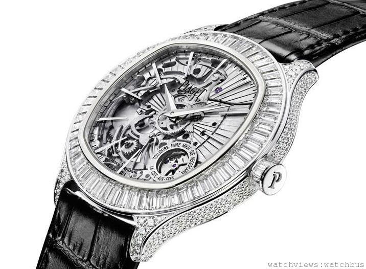 伯爵於「鐘錶與奇蹟」展會上展演「超薄製錶大師」以及「金質與鑽石大師」雙重身分