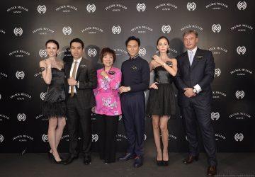 張智霖出任FRANCK MULLER亞太區品牌大使,獲贈850萬全新Thunderbolt陀飛輪腕錶