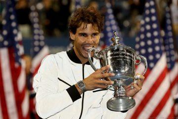 Rafael Nadal 在2013年美國網球公開賽封王,驗證Richard Mille RM027王者地位