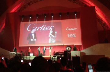 劉德華出席品牌卡地亞Cartier Tank手錶雞尾酒會及微電影首映禮