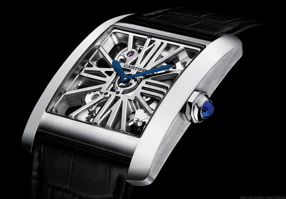 優雅風範盡顯男性魅力:卡地亞CARTIER TANK MC腕錶