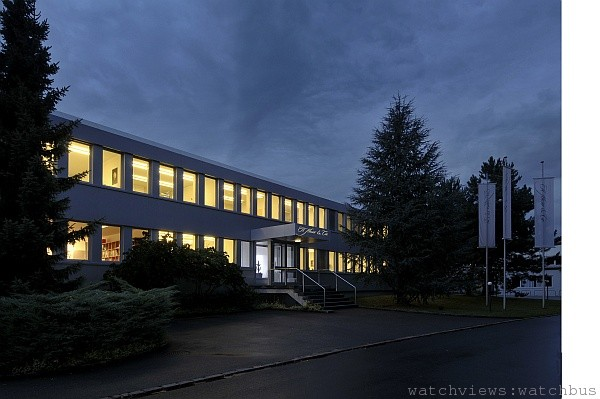 機芯乃是機械腕錶最重要的一部分,所以全面自廠自製的機芯也成為H.Moser & Cie品牌的精神核心,圖為MOSER位於瑞士沙夫豪森的錶廠。