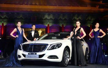 全新Benz S-Class君臨天下 富麗水上皇宮精彩展演