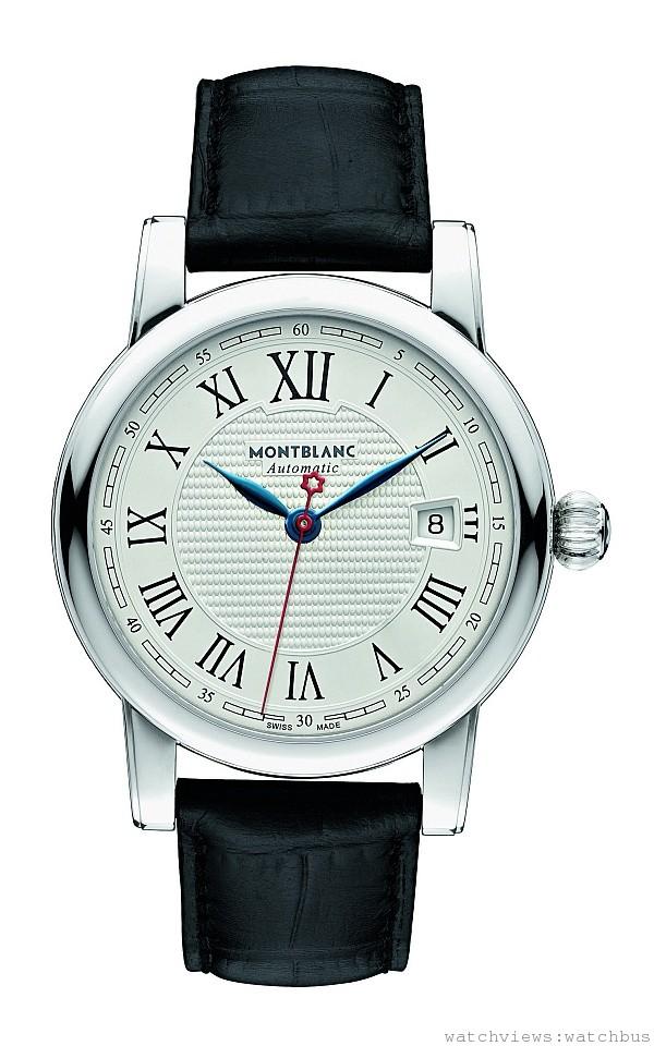 110705 萬寶龍Star Date系列Carpe Diem特別版自動腕錶,建議售價約NT$88,000 。