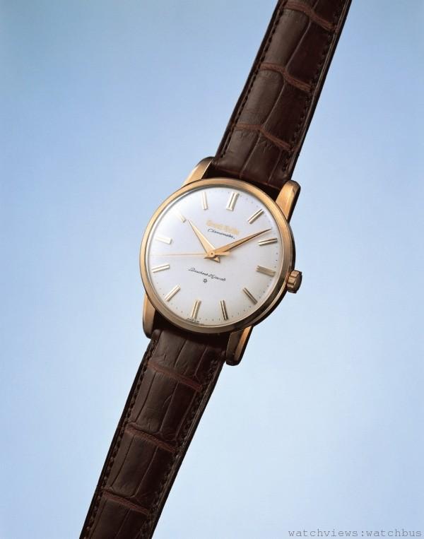 第一只Grand Seiko腕錶(1960年):1950年代腕錶生產量大增,伴隨各式錶款的開發,象徵SEIKO當時最頂尖技術的Grand Seiko問世。不論精準度、組裝、調校、外觀、檢查等都採用最高規格。其精準度達到瑞士天文台的優秀等級。每一只都需經過內部嚴格檢查,合格者賦予精準度證明書。當時的售價為日幣25,000以上,價格是大學畢業生起薪的兩倍,依舊十分暢銷。