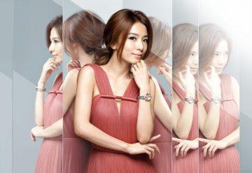 CITIZEN女錶首位台灣代言人田馥甄以都會精靈之姿演繹女性精準的時尚品味,xC全球首款鈦金屬電波女錶上市發表
