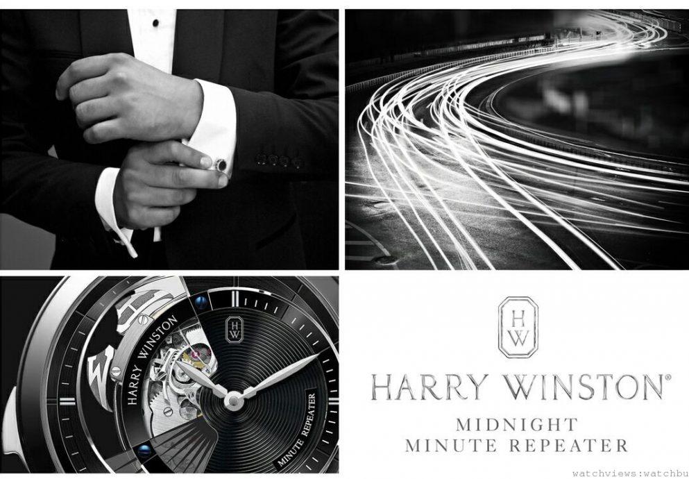 Harry Winston海瑞溫斯頓靜夜Midnight Minute Repeater系列三問功能腕錶