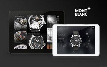 萬寶龍腕錶系列(Montblanc Timepieces) iPad App正式上線,線上即時試戴多種腕錶