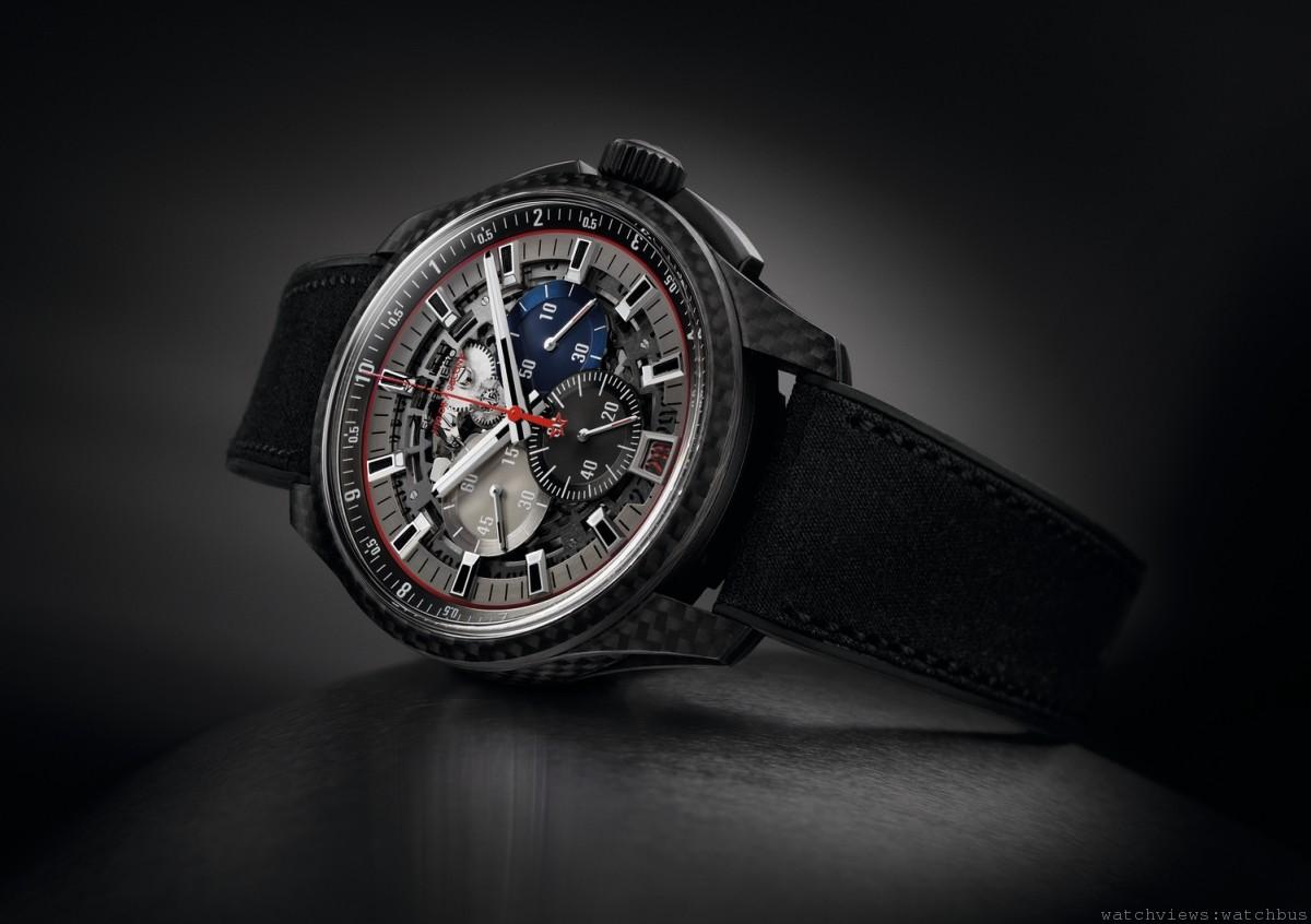 前衛革新的運動腕錶:Zenith真力時El Primero Striking 10th Lightweight 超輕量腕錶