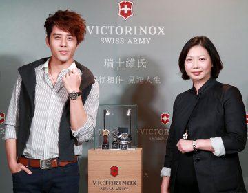 Victorinox CHRONO CLASSIC 1/100th計時碼錶在台首度發表,胡宇威化身一日店長展現沉穩時尚新品味