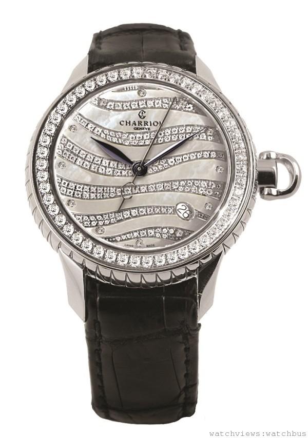 CHARRIOL COLVMBVS™ Lady Precious腕錶 售價NT$498,400