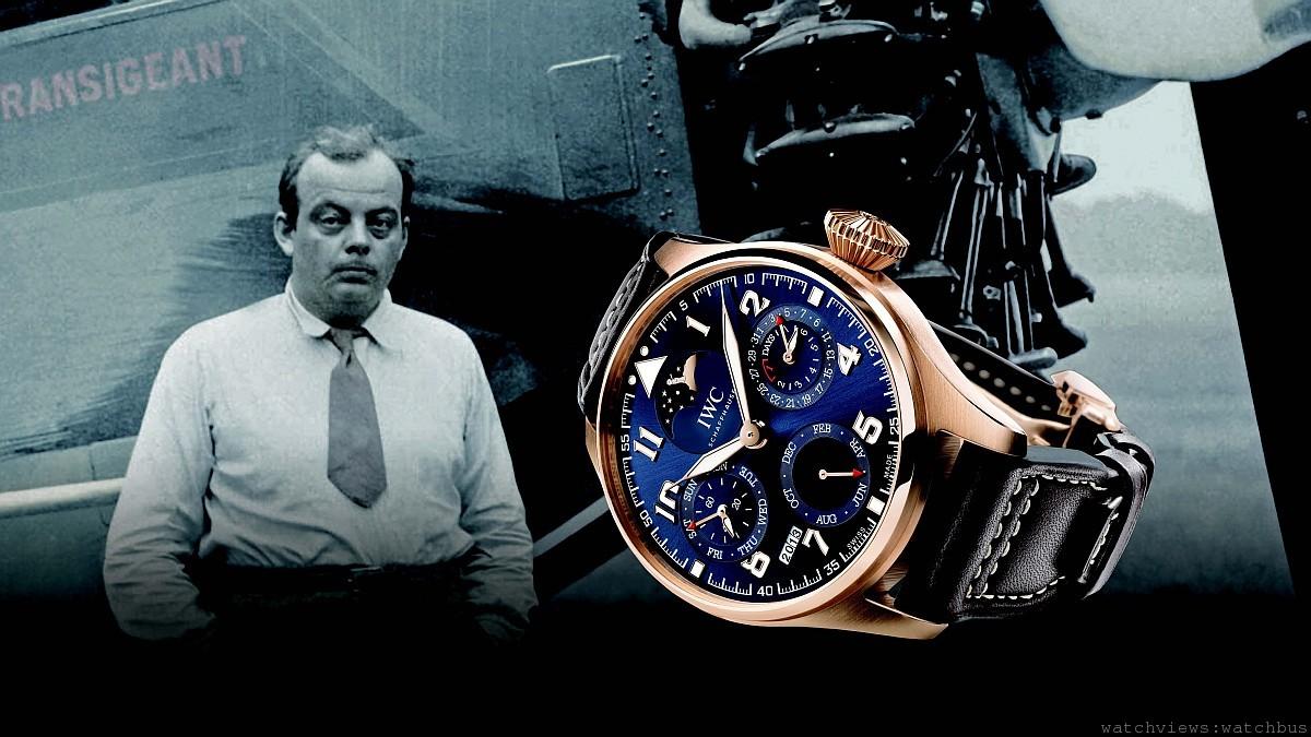 IWC萬國錶慶祝小王子的歷史性時刻,發行大型飛行員萬年曆腕錶與馬克十七飛行員腕錶「小王子」特別版