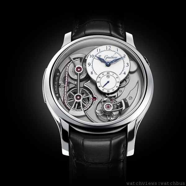 男士複雜腕錶獎:Romain Gauthier Logical One