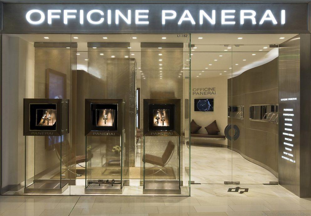 沛納海上海環貿廣場專賣店(Panerai – China Shanghai IAPM Boutique )隆重揭幕