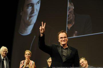 GP芝柏表全力支持2013年度里昂電影節,表揚今屆Lumière Award得主導演昆汀·塔倫提諾的傑出成就