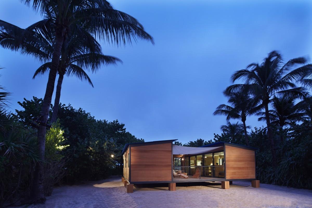 LOUIS VUITTON於邁阿密Art Basel重現Charlotte Perriand 夏洛特‧貝里安1934水岸居計畫