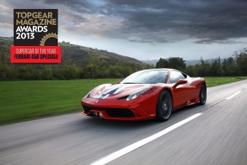 FERRARI 458 SPECIALE 榮獲 BBC Top Gear 雜誌「2013 年度超跑」獎項,於 2014台北新車大展全臺首發