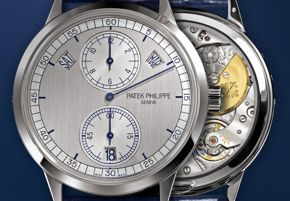 百達翡麗Ref.5235三針一線腕錶配備新世代微型擺陀自動上鍊機芯─31-260 REG QA