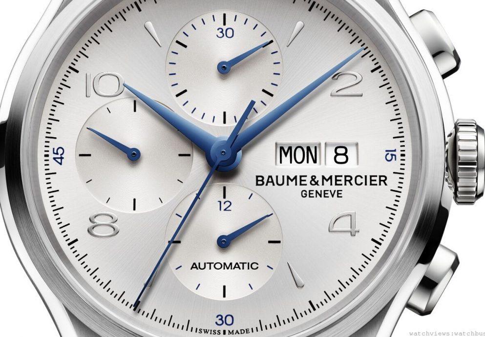 2014 SIHH:名士錶發表克里頓系列自動上鏈計時碼錶Clifton Chronograph 43 mm