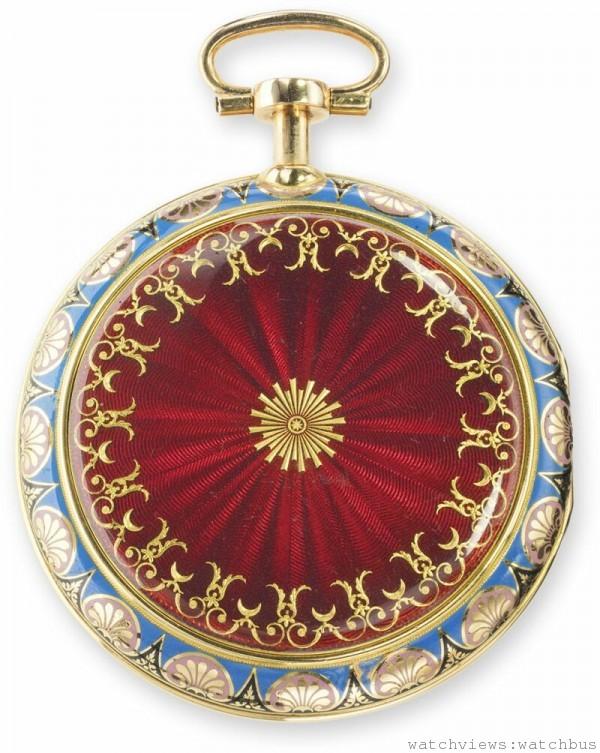 Breguet N° 1320 七分問懷錶