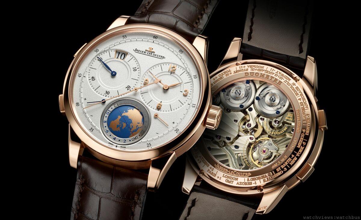 世界時間腕錶領域的創新之作:積家雙翼獨特旅行時間腕錶Duomètre Unique Travel Time