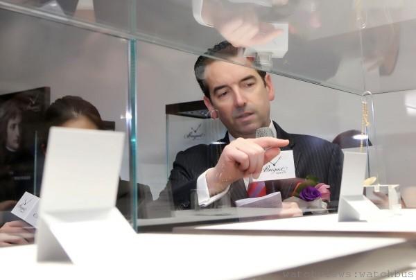 寶璣博物館館長Mr. Emmanuel Breguet 介紹寶璣館藏珍稀定製古董錶