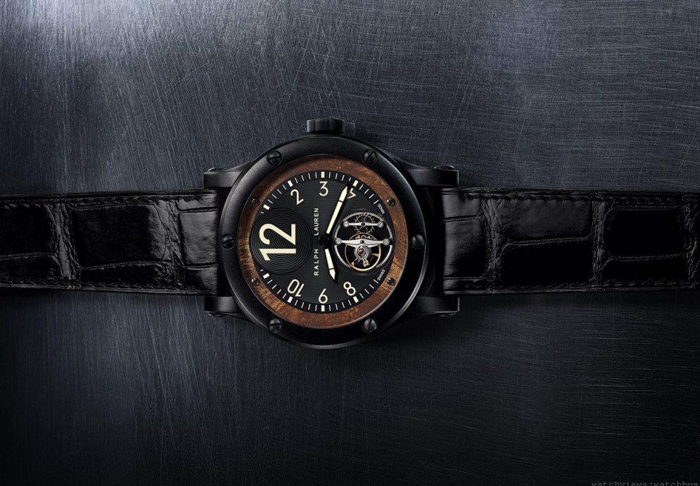 [2014 Pre-SIHH] Ralph Lauren 推出 Sporting Automotive 系列飛行陀飛輪腕錶