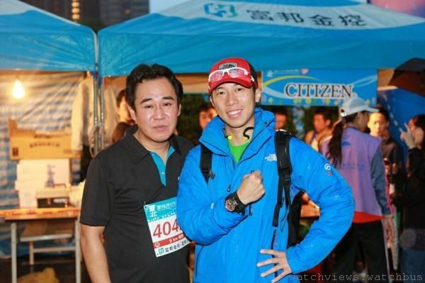 左起CITIZEN台灣分公司總經理谷 洋一與陳彥博