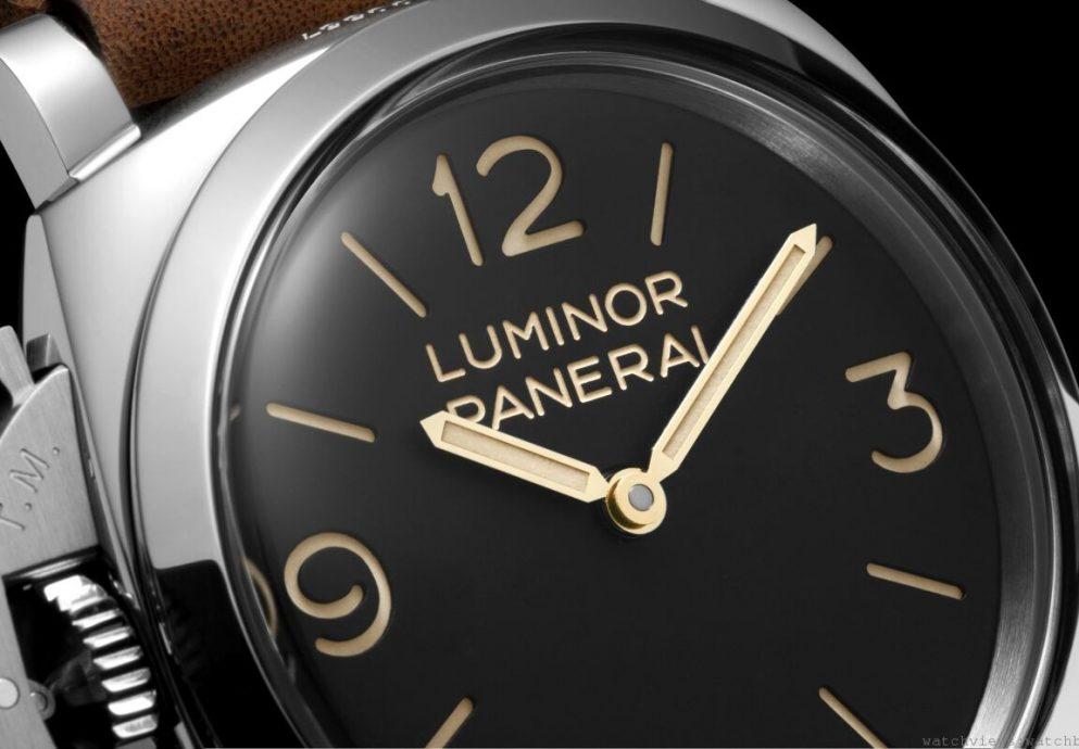 [2014 SIHH] 沛納海Luminor 1950 Left-Handed 3 Days 3日動力儲存左撇子腕錶