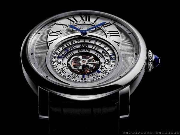 [2014 SIHH 卡地亞呈獻] 時間的劇場:Rotonde de Cartier Astrocalendaire天體運轉式萬年曆腕錶