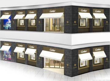 卡地亞台北101專賣店二月全新開幕