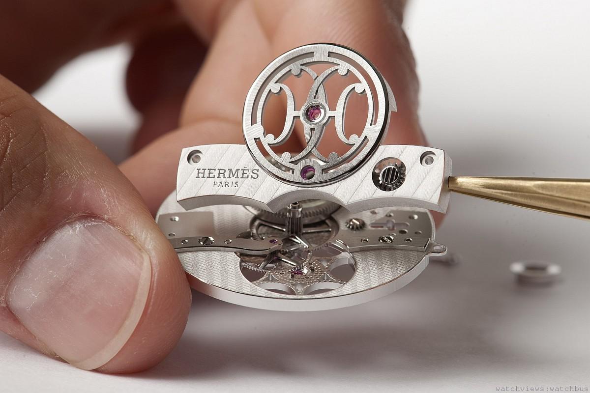 愛馬仕首枚飛行陀飛輪腕錶Arceau Lift