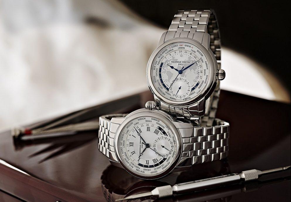 [2014 Pre-Basel] Frédérique Constant Classics Manufacture Worldtimer康斯登典雅自家機芯世界時區腕錶,優雅活力耀目登場