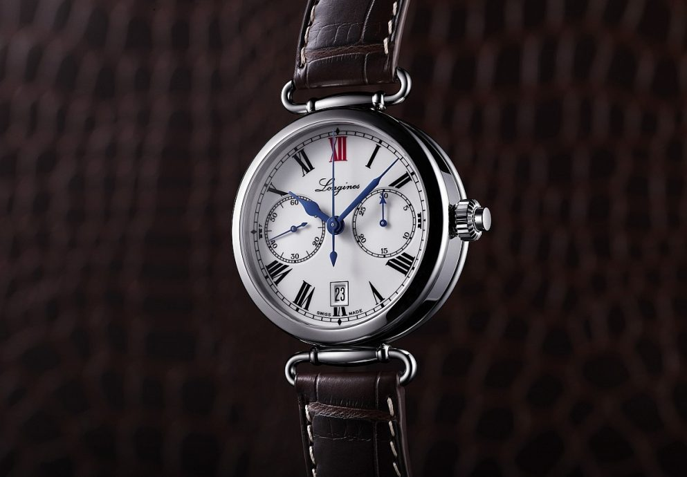 [2014 Pre-Basel] 傳承與傳統的結合──浪琴表導柱輪單按把計時碼錶The Longines Column-Wheel Single Push-Piece Chronograph