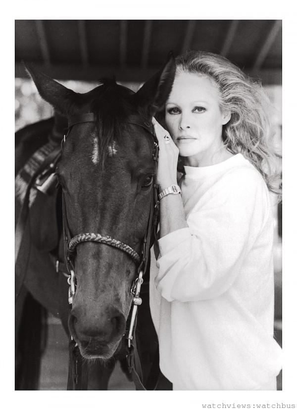 Ursula Andress配戴Polo腕錶