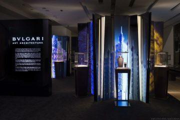 凝聚藝術瞬間,閃耀建築風華:Art Architecture BVLGARI 珠寶美學盛展2月21日起寶格麗台北101精品店展出