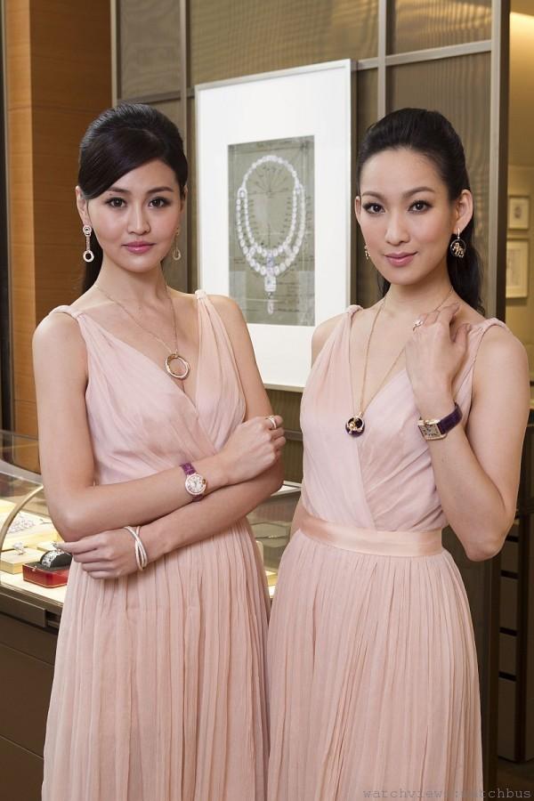 名模李曉涵與林葦茹共同詮釋卡地亞系列珠寶,綻放優雅法式風尚。