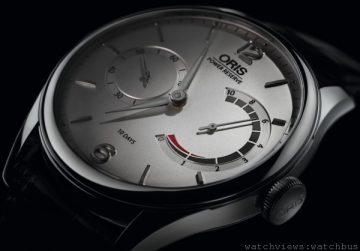 [2014 Basel] Oris推出110周年10日動力儲存機芯腕錶