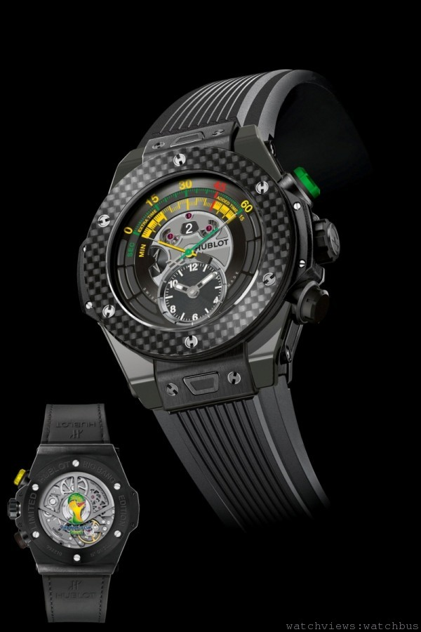 2014年FIFA巴西世界盃TM官方腕錶(黑色陶瓷款)