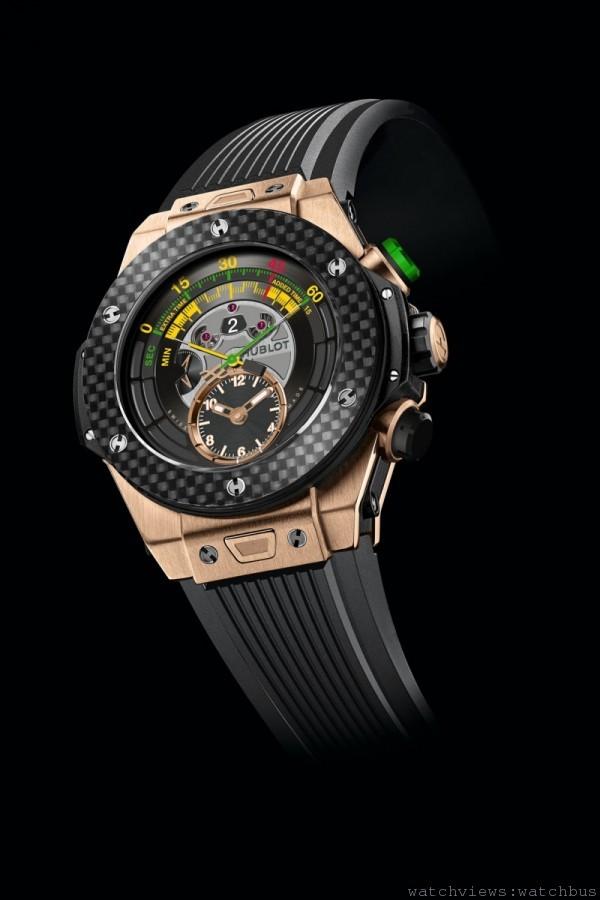 2014年FIFA巴西世界盃TM官方腕錶(王金款)Big Bang Unico