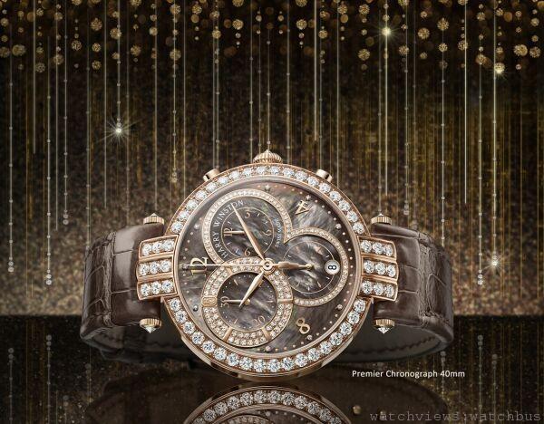 [2014 pre-Basel] Harry Winston海瑞溫斯頓PREMIER系列40毫米計時碼錶