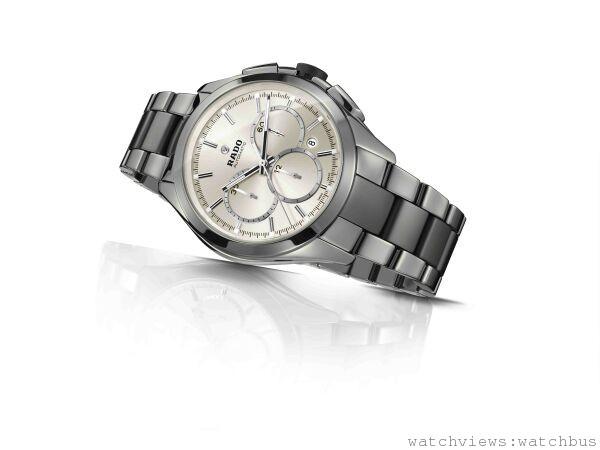 雷達表HyperChrome皓星系列電漿高科技陶瓷自動計時腕錶