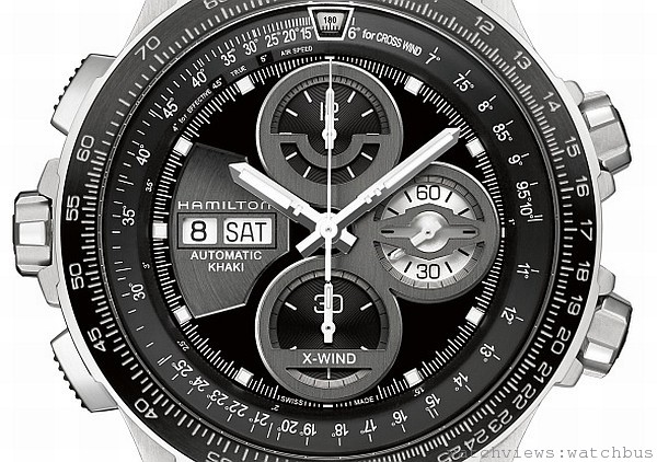 [2014 pre-Basel] 猛禽來襲!!漢米爾頓Hamilton Khaki極限飛行X-Wind 腕錶進化出擊