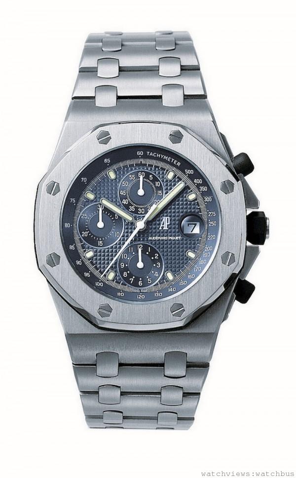於1993年發表的首只愛彼皇家橡樹離岸型計時碼錶