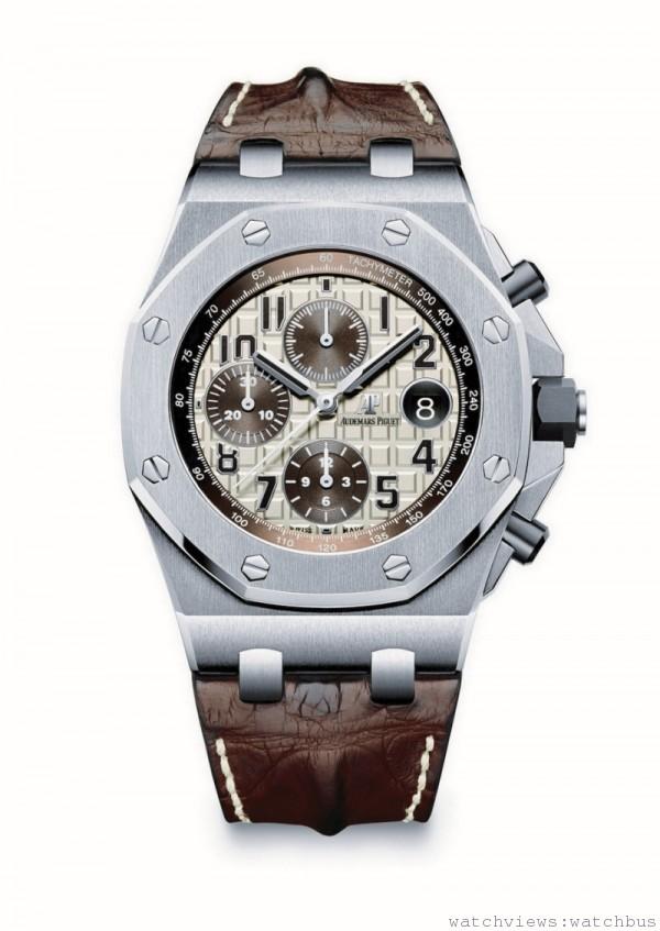 全新愛彼皇家橡樹離岸型42毫米計時碼錶SAFARI