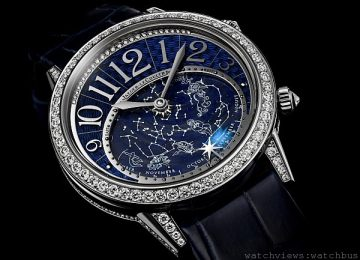 Jaeger-LeCoultre積家星空腕錶,專屬熱愛星空的你