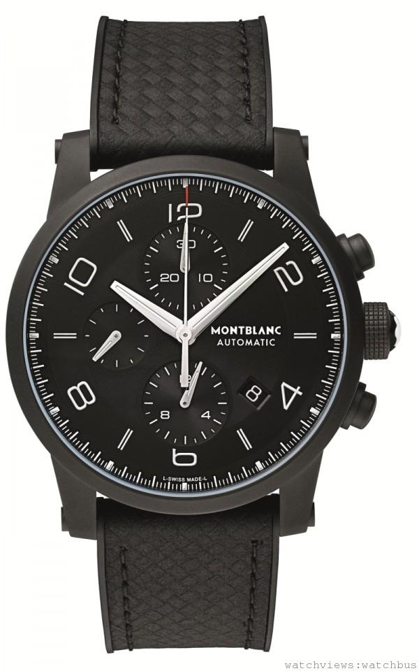 萬寶龍TimeWalker系列Extreme DLC計時腕錶,建議售價約NT$195,300。