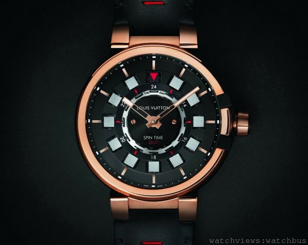 [2014 pre-Basel] 路易威登推出Tambour eVolution時光飛旋兩地時間腕錶與EMPRISE腕錶系列