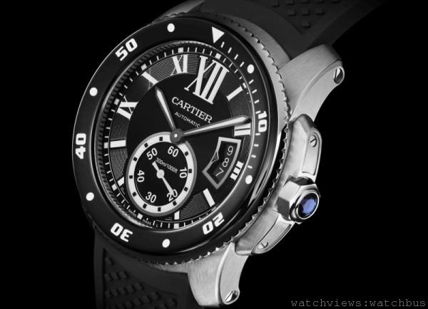 卡地亞Calibre de Cartier Diver潛水腕錶2014年五月全新上市
